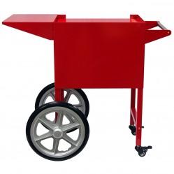 Chariot pour machine à pop corn professionnelle