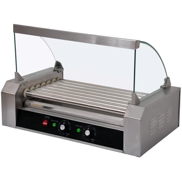 machine hot dog professionnelle 7 rouleaux. Black Bedroom Furniture Sets. Home Design Ideas